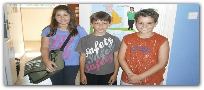 μαθητές της Μαγδαληνής Φασουλή