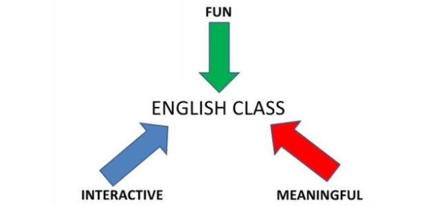 English class should be fun, interactive and meaningful