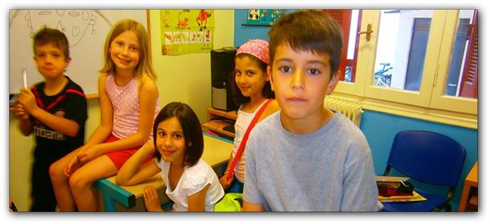 μικροί μαθητές της Μαγδαληνής Φασουλή